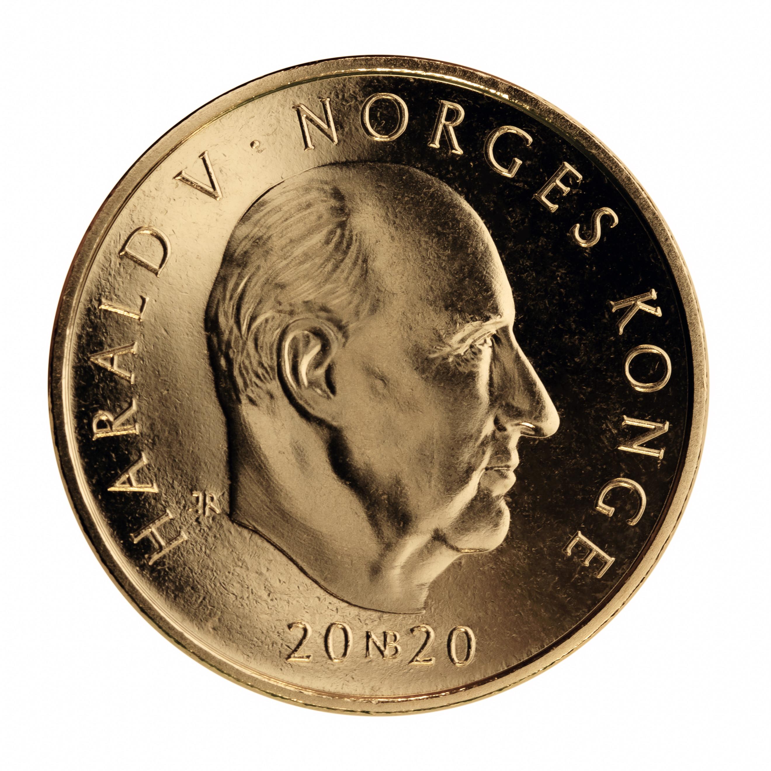 Valør: 20 kr - Norge - Årstall: 2020