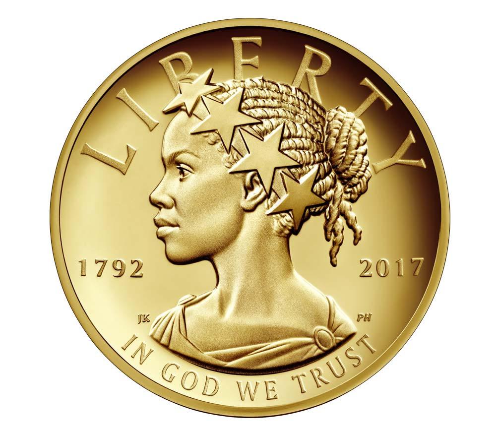 Valør: 100 Dollar - Gull mynt fra USA - Årstall: 2017