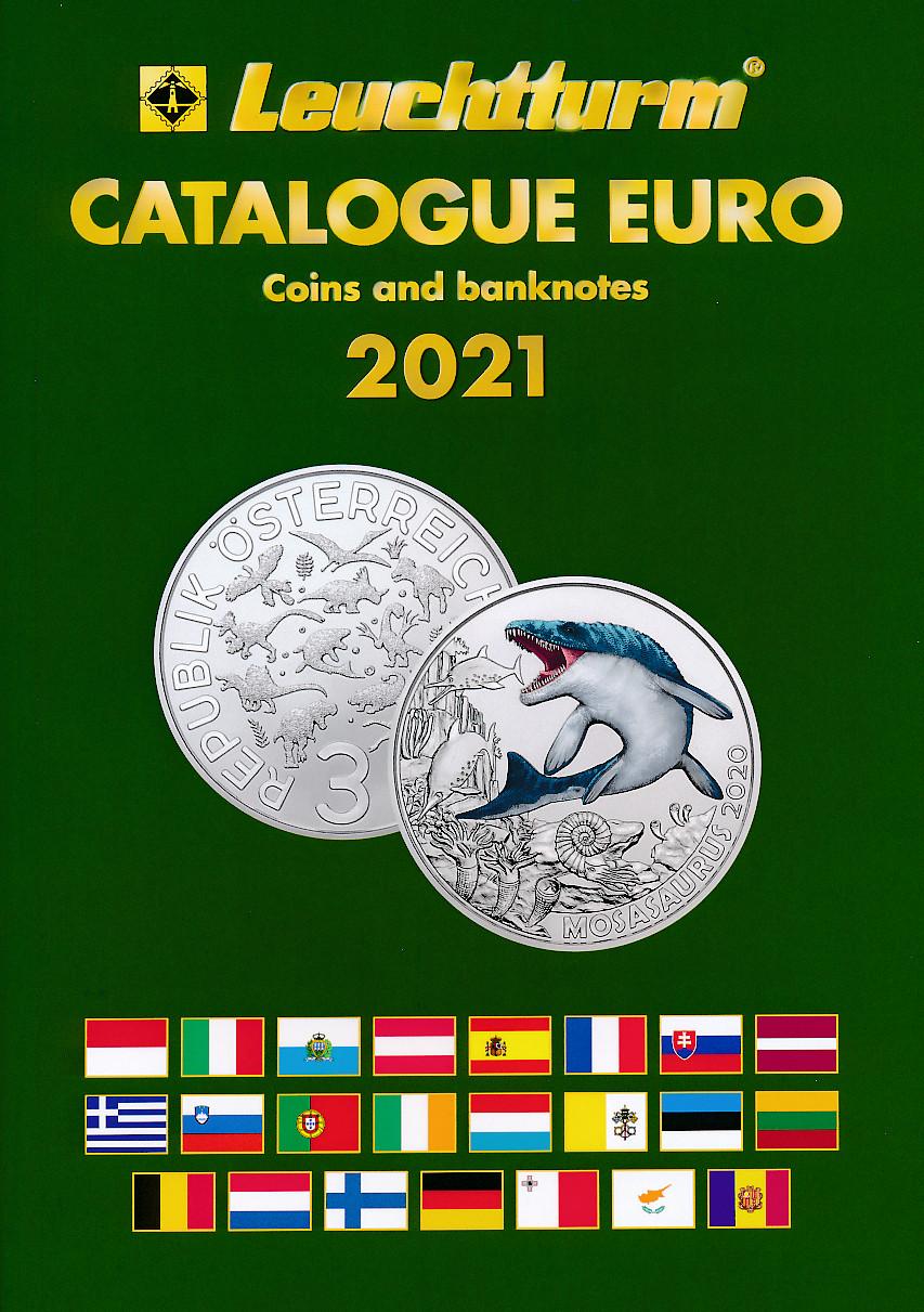 Leuchtturm katalog over Euro mynter og sedler 1999 - 2021