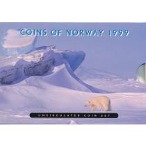 Souvenier myntsett 1999