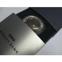 Nobel mynten i sølv 2001