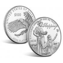 100$ Platina mynt fra USA 2020 Proof