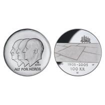 100 kr 2003 Hundreårsmynten Nr 1