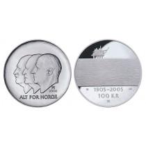 100 kr 2004 Hundreårsmynten Nr 2