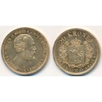 20 kr Gullmynt fra Norge 1902