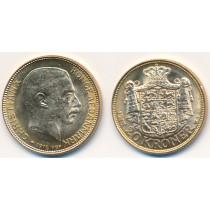 20 kr Gullmynt fra Danmark 1915