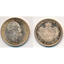 20 kr Gullmynt fra Sverige 1898