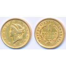 Gull 1$ 1850 USA Dollar