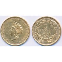 Gull 1$ 1854 USA Dollar