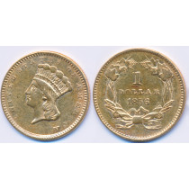 Gull 1$ 1856 USA Dollar