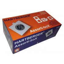 (A) Hartberger eske med 1200 stk myntrammer