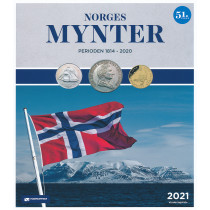(a) Norges Mynter 1814 - 2021 TILBUD