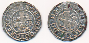 2 Skilling 1653