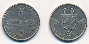 50 Øre 1920