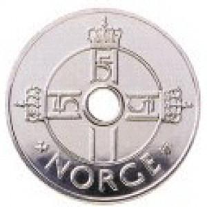 Valør: 1 kr - Norge - Årstall: 2016