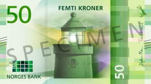 Valør: 50 Kr - Norge - Årstall: 2017