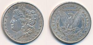 Valør: 1$ - USA - Årstall: 1878