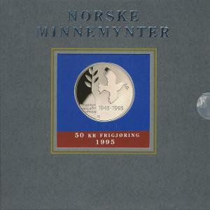 Valør: 50 kr - Frigjøringen - Årstall: 1995