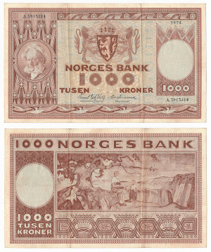 1000 Kr 1974
