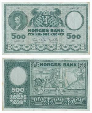 500 Kr 1963