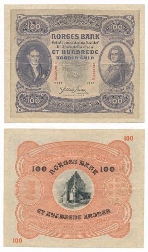 100 Kr 1941