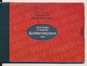 East India Company kobbermynter - Årstall: 1808
