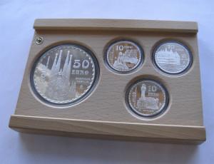 Spania myntsett 2002