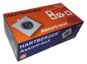 Hartberger 1200 stk myntrammer i eske