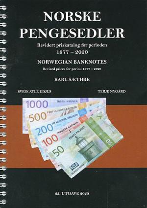 Norske Pengesedler utgave 25 - 1877-2020