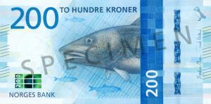 Valør: 200 Kr - Norge - Årstall: 2017